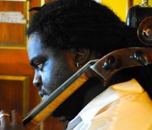 Dr. Stamos Martin, composer/cellist